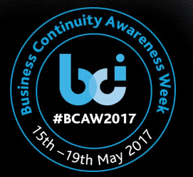 Business Continuity Awareness Week 2017